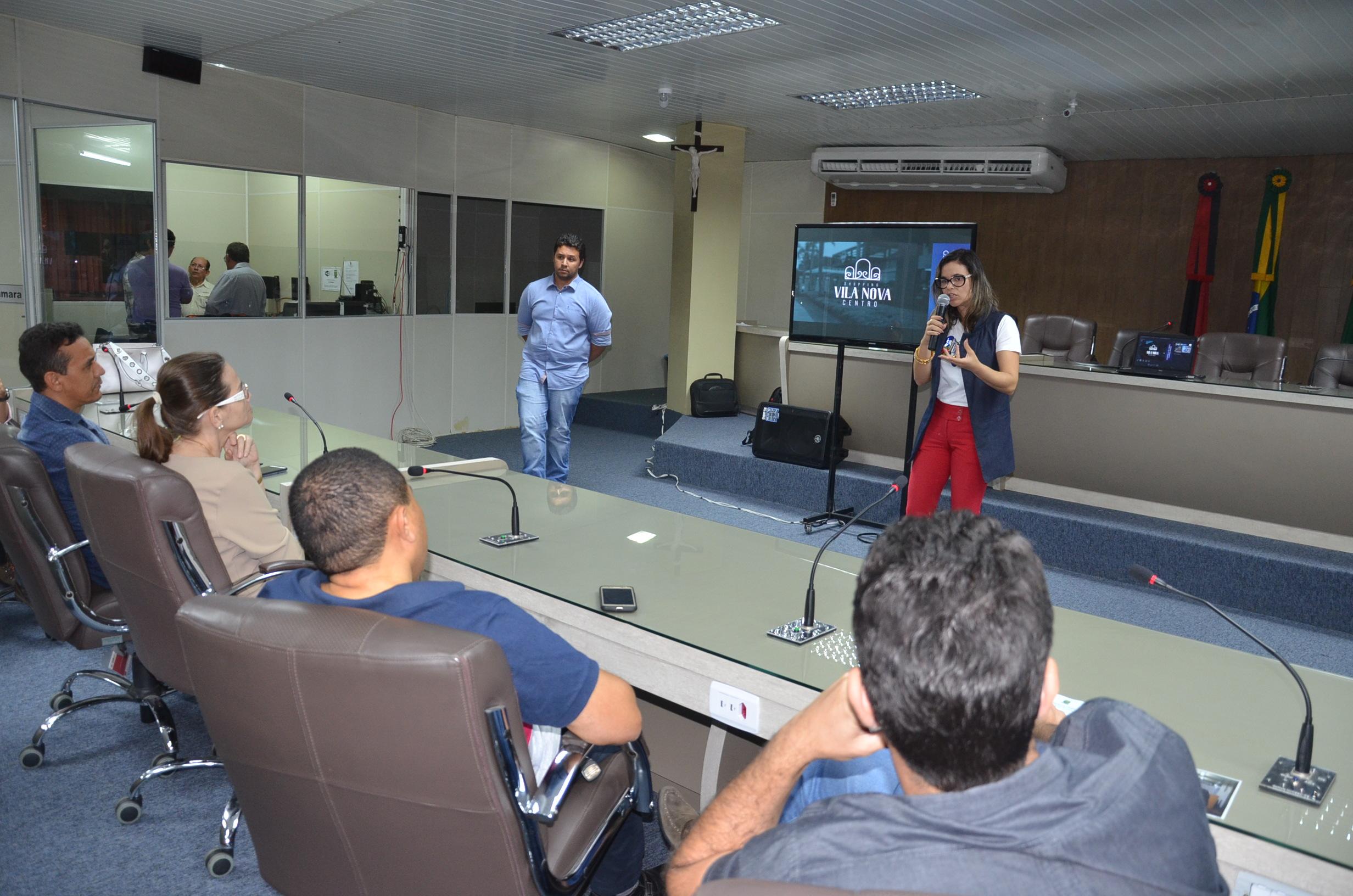 """Projeto do """"Vila Nova Shopping"""" é apresentado aos vereadores campinenses"""