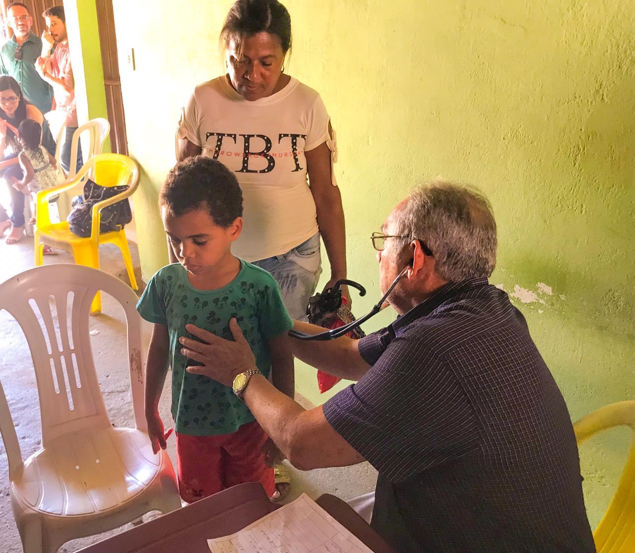Comunidades atingidas pelas chuvas recebem visitas de equipes de Saúde de Cabedelo