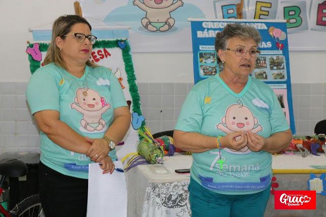 Graça Rezende Participou Do Encerramento Da Semana Do Bebê