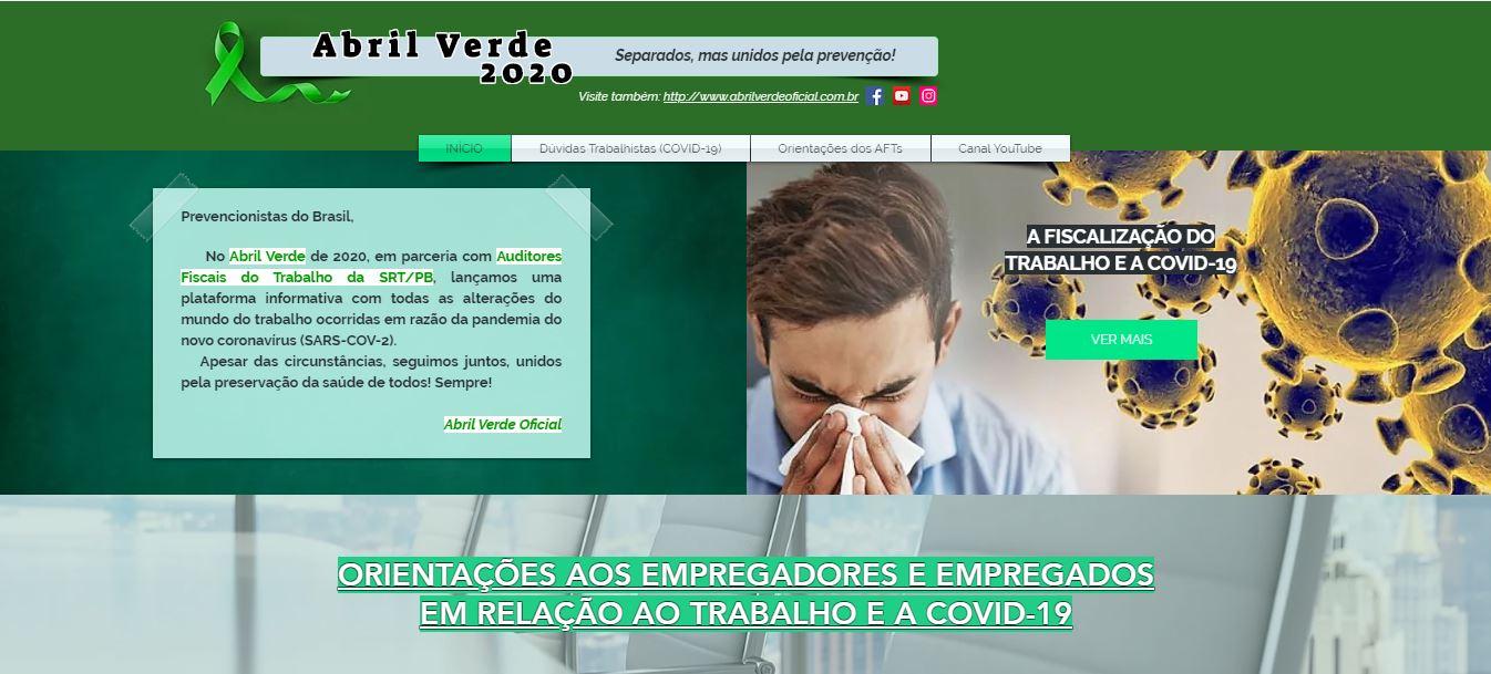 AUDITORES FISCAIS DO TRABALHO DA PARAÍBA, DIVULGAM PLATAFORMA INFORMATIVA