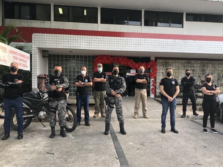 João Azevêdo parabeniza policiais penais e anuncia retomada das progressões da categoria para o mês de setembro