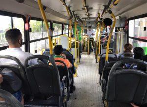 Ônibus voltam a circular em João Pessoa de forma planejada e sem lotação