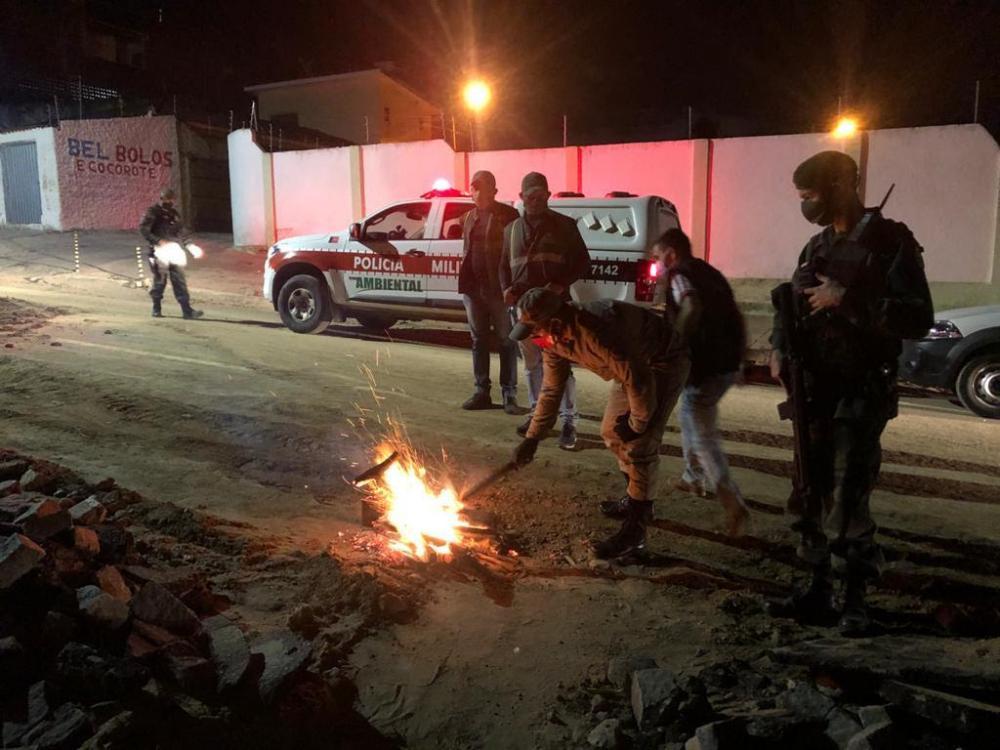 PM prende mais de 100 suspeitos e apreende 23 armas no fim de semana na Paraíba