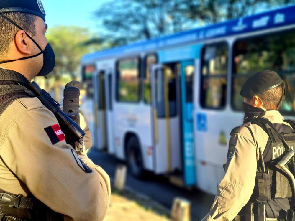 Operação Ônibus Seguro reforça a segurança durante a retoma da circulação do transporte público