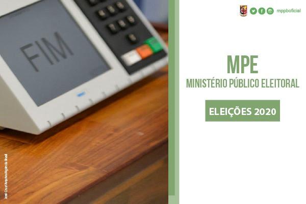 Eleições 2020: MPE disponibiliza canais para denúncias à população
