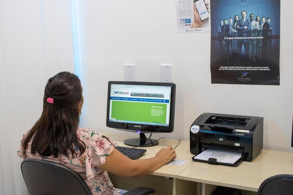 Corretores de imóveis têm sala exclusiva na sede do Creci-PB