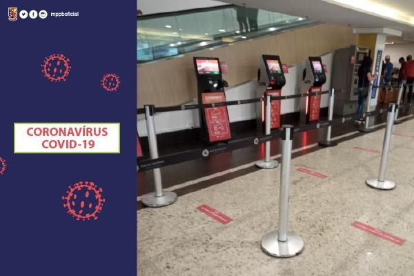 MP-Procon fiscaliza reabertura de shopping centers, em Campina Grande