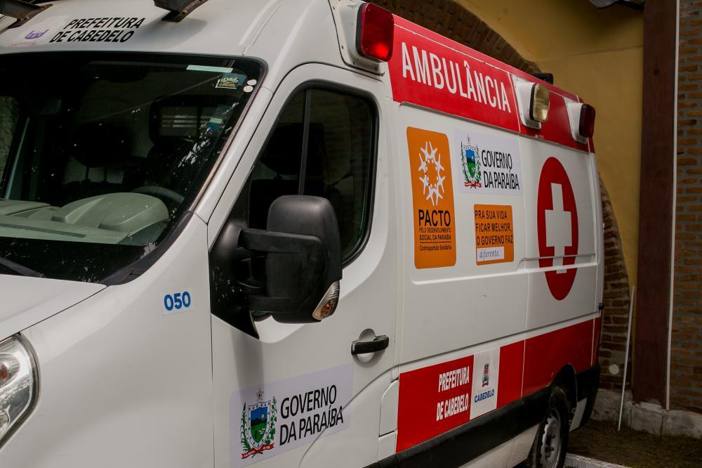 Parceria entre Prefeitura de Cabedelo e Receita Federal beneficia cidade com mais duas ambulâncias